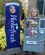 Vending Machine and Gum Homemade Costume