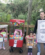 Vending Machine Family Homemade Costume