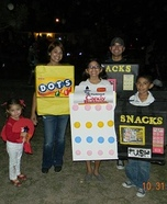 Vending Machines & Candy Family Costume