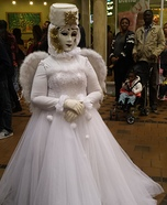 Venetian Angel Ghost Bride Homemade Costume