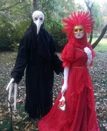 Venetian Carnival Couple Homemade Costume