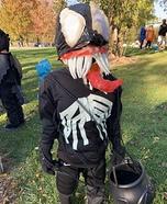 Homemade Venom Costume