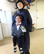 Ventriloquist Homemade Costume