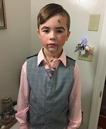 Ventriloquist Dummy Homemade Costume