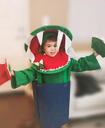 Venus Flytrap Homemade Costume