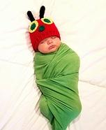 Very Hungry Caterpillar Baby Homemade Costume