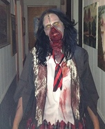 Victim of a Serial Killer Homemade Costume