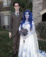 Victor Van Dort and Corpse Bride Homemade Costume