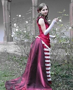 Victorian Girl Homemade Costume