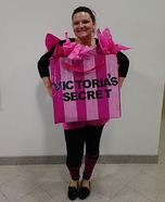 Victoria's Secret Gift Bag Costume