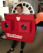 ViewMaster Homemade Costume