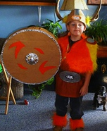 Home made Viking costume