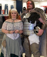 Viking and the Maiden Costume