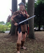 Viking Girl Homemade Costume