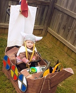 Viking Princess Homemade Costume