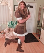Viking Warrior Princess Homemade Costume