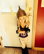 Viktor the MN Vikings' Mascot Homemade Costume