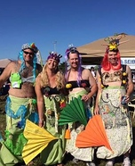 Village Mermaids Group Costume
