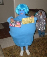 Violet Beauregarde Homemade Costume