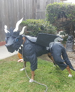 Viserion Dog Homemade Costume
