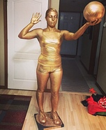 Volleyball Trophy Homemade Costume