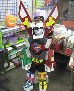 DIY Voltron Costume for Boys