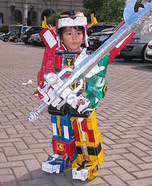 DIY Voltron Costume