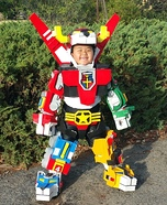 Voltron Boy Homemade Costume