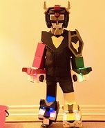 Voltron: Defender of the Universe Homemade Costume