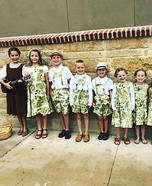 Von Trapp Children from Sound of Music Homemade Costume