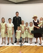 Von Trapp Family Homemade Costume
