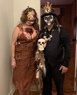 Voodoo Doll and Witch Doctor Homemade Costume