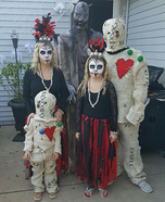Voodoo Family Homemade Costume