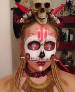 DIY Voodoo Priestess Costume