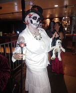 Voodoo Priestess Homemade Costume