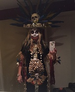 Voodoo Princess Homemade Costume