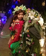 Voyager Moana and Tefiti Homemade Costume