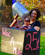 Wac-A-Mole With Baby Homemade Costume