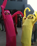 Wacky Waving Inflatable Flailing Arm Tube Men Costume
