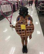 Waffle Hawk Homemade Costume