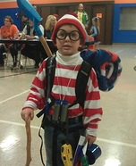 Children's book Halloween costumes - Waldo Costume