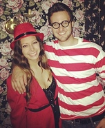 Waldo and Carmen Sandiego Homemade Costume