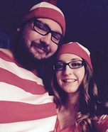 Waldo & Wenda Homemade Costume