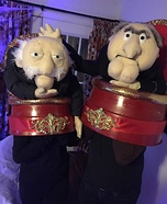 Waldorf and Statler Homemade Costume
