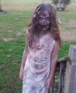 Walking Dead Girl Homemade Costume