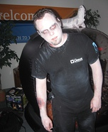 Homemade Walking Dead Linux Costume