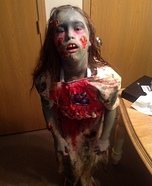 Walking Dead Zombie Homemade Costume