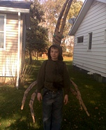 Homemade Stick Bug costume