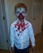 Walking Zombie Homemade Costume