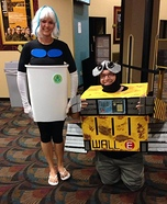 Wall-E and Eve Homemade Costume